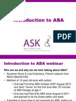ABA Webinar