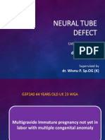 Neural Tube Defect DS