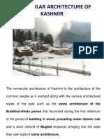 Kashmir Vernacular