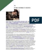 Bobby Fischer Resumo Sobre o Genio