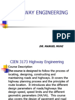 2017 Highway Engineering