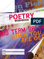 Poetry Workbook 2013
