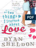 Dyan Sheldon - One or Two Things I Learned About Love[1]