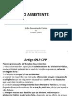Aula Teórica Dpp- 16-17- O Assistente