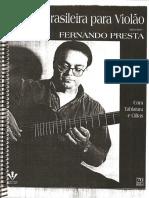 Música Brasileira Para Violão - Fernando Presta.pdf