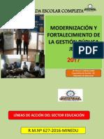 Modernización y Fortalecimiento de la Gestión .pptx
