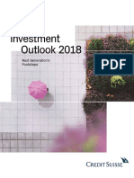 Credit Suisse Investment Outlook 2018