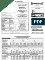 Crosstown schedule eff. 9-7-10