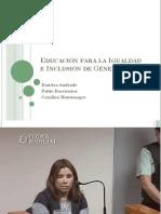 Taller de Género para Apoderados - Escuela Escritores de Chile