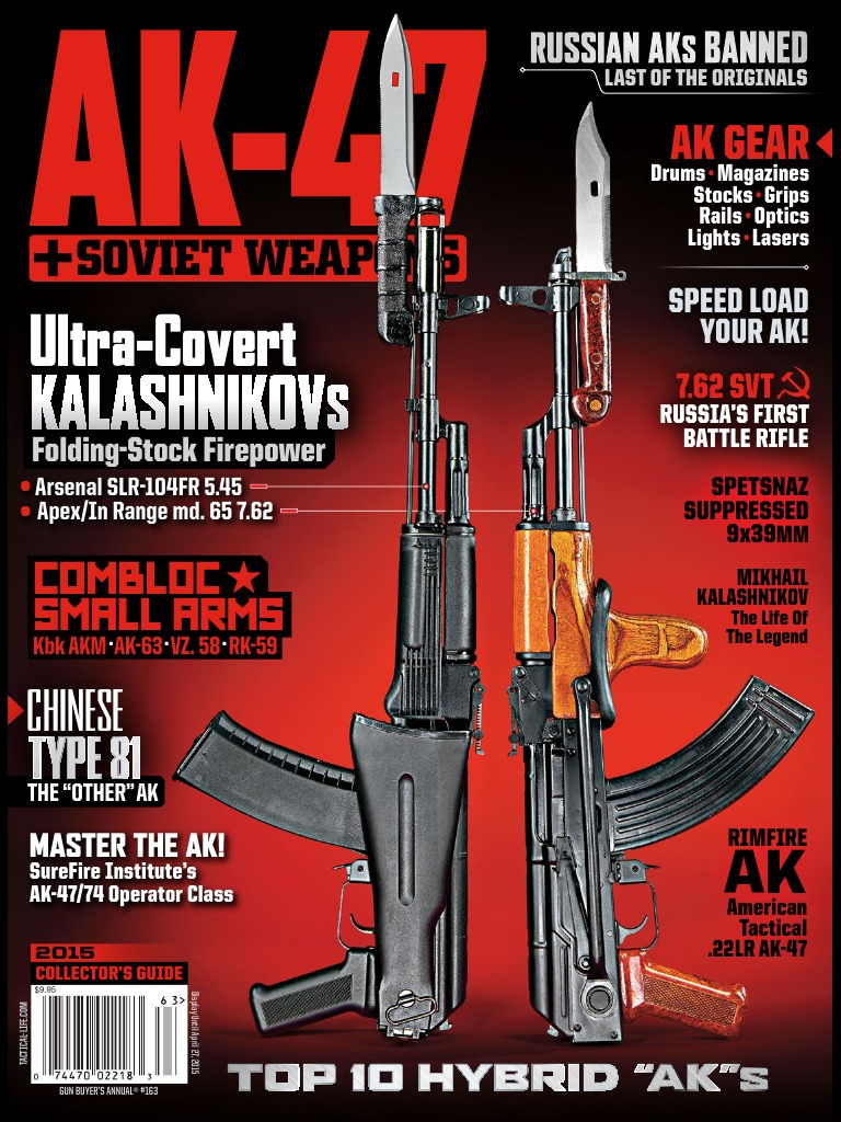 The AK-47 & Soviet Weapons 2015 | Personal Weapons | Firearms
