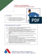 Maintenimiento D-050 SPANISH