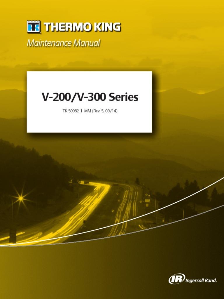 V-200, V-300 Series 50982-1-MM (Rev  5, 09-14) | Mechanical