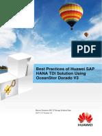 Best Practices of Huawei SAP HANA TDI Solution Using OceanStor Dorado V3