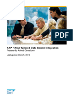 SAP TDI FAQ