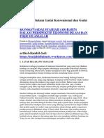 Landasan Hukum Gadai Konvensional Dan Gadai Syariah