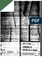 Compendio de La Historia de La Musica - Ernesto de La Guarda