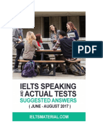 1ielts Speaking Actual Tests Suggested Answers June August 20