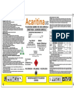 Acaritina 200 l Renovacion
