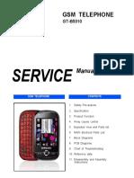 Samsung Gt-b5310 Service Manual