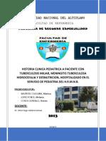 Historia Clinica Pediatrica Tbcmiliar