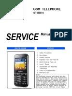 Samsung Gt-b5510 Service Manual
