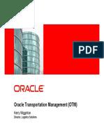 Oracle Transportation Management Details