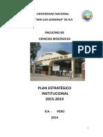 Plan Estrategico Institucional 2015-2019