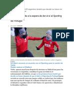 Atlético de Madrid El Argentino Tendrá Que Decidir Su Futuro en Las Próximas Horas