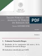 Taller Análisis de Percepción de Riesgos (SOFOMES ENR)