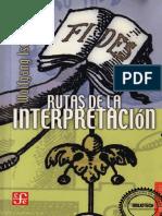 Rutas de la interpretacion