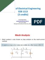 EEB1113 DC7 Mesh&SuperMeshAnalysis