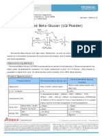 Fermented Beta Glucan (LQ Powder)