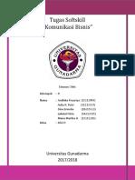Tugas 4_Softskill Komunikasi Bisnis (Contoh Kasus Komunikasi Bisnis)
