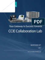 CCIE Collaboration v1 - Question Set - Final Release - 10-08-2016 - Lab 3