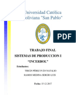 Trabajo Final INCERBOL