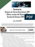 Seminario Libros Electrónicos PLE SUNAT - CCPL