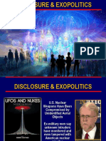 Disclosure and Exopolitics Summary
