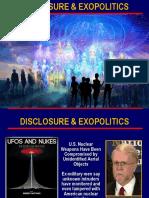 Disclosure and Exopolitics Summary