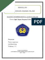 Hadist Sumber Kedua Ajaran Islam