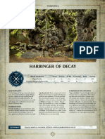 Aos Warscroll Harbinger of Decay Es
