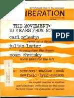 LIberation, August-September 1969.
