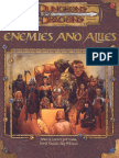 D&D 3.5 - Enemies and Allies