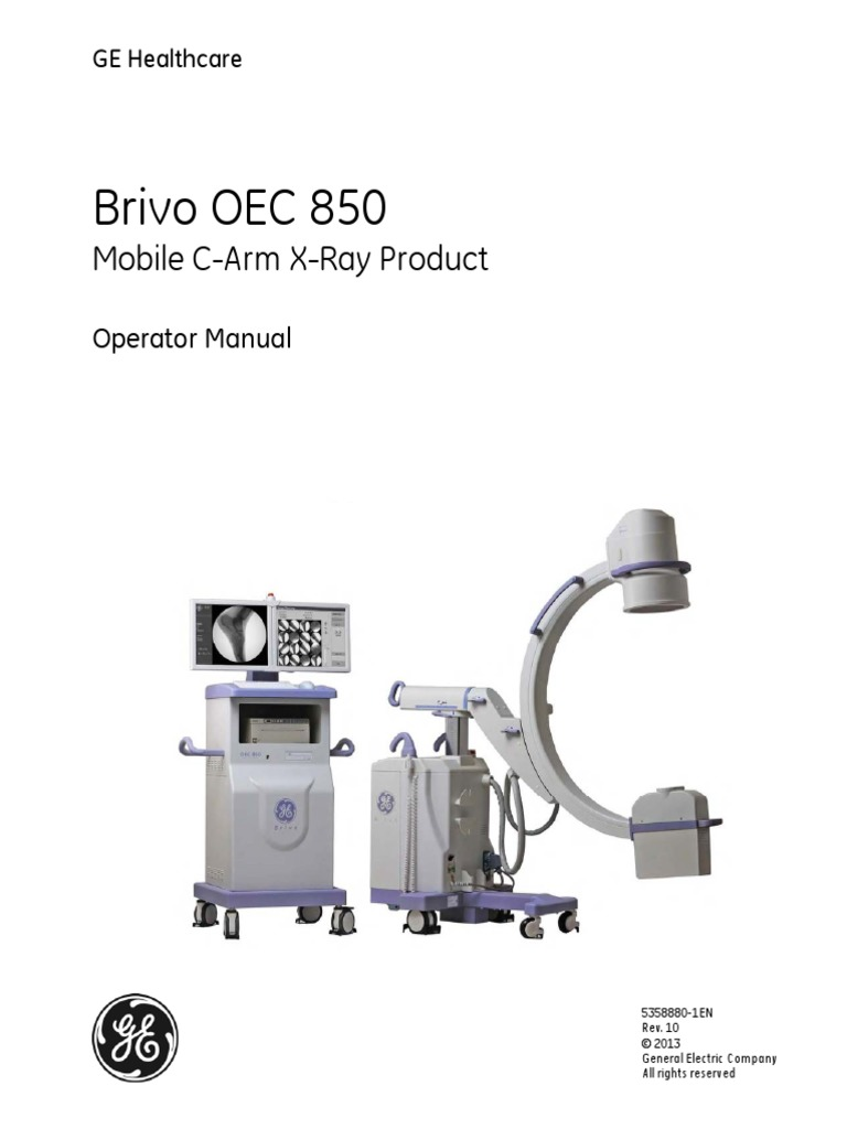 Brivo OEC 850 Operator Manual | Electromagnetic Interference |  Electromagnetic Compatibility