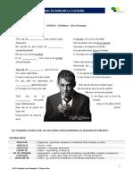Português para estrangeiros -Lição 11 - Exercício 02 - Música (Cotidiano)