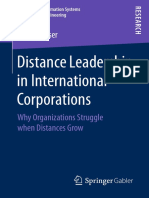 (Advances in Information Systems and Business Engineering) Nadine Poser (Auth.)-Distance Leadership in International Corporations_ Why Organizations Struggle When Distances Grow-Gabler Verlag (2017)