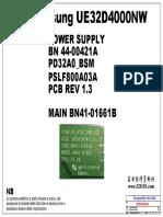 BN44-0021A UA32D4000NW_PD32A0-BSM