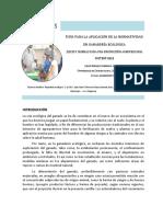 CARTILLA 15 Normativa Ecologica