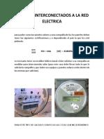 Sistemas Interconectados a La Red Electrica