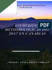 Resumen Meteorológico Del Año 2017 en Canarias