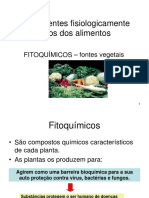 Alimentos funcionais - fitoquímicos